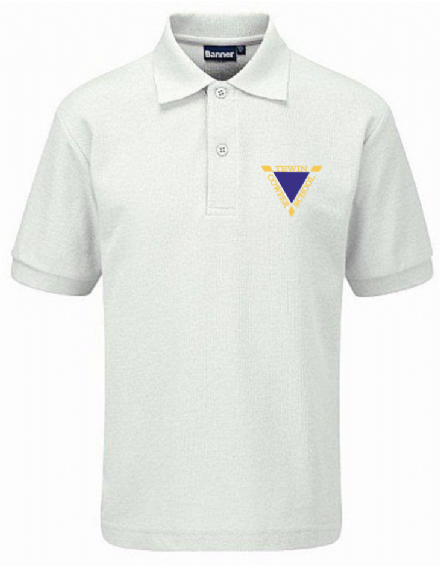 Tewin Cowper Primary White Polo